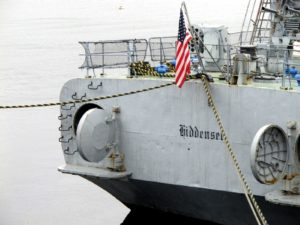 USNS Hiddensee-歩