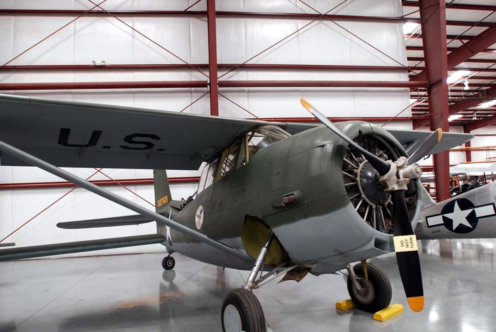 Curtiss O-52A-1-CW Sova