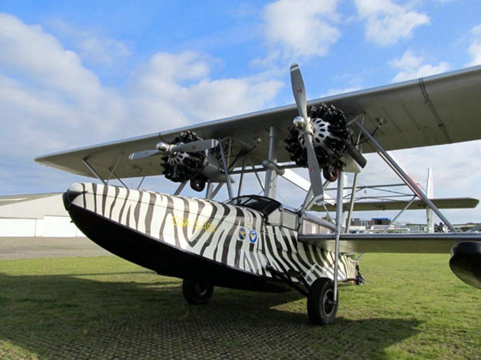 Sikorsky S-38の飛行艇
