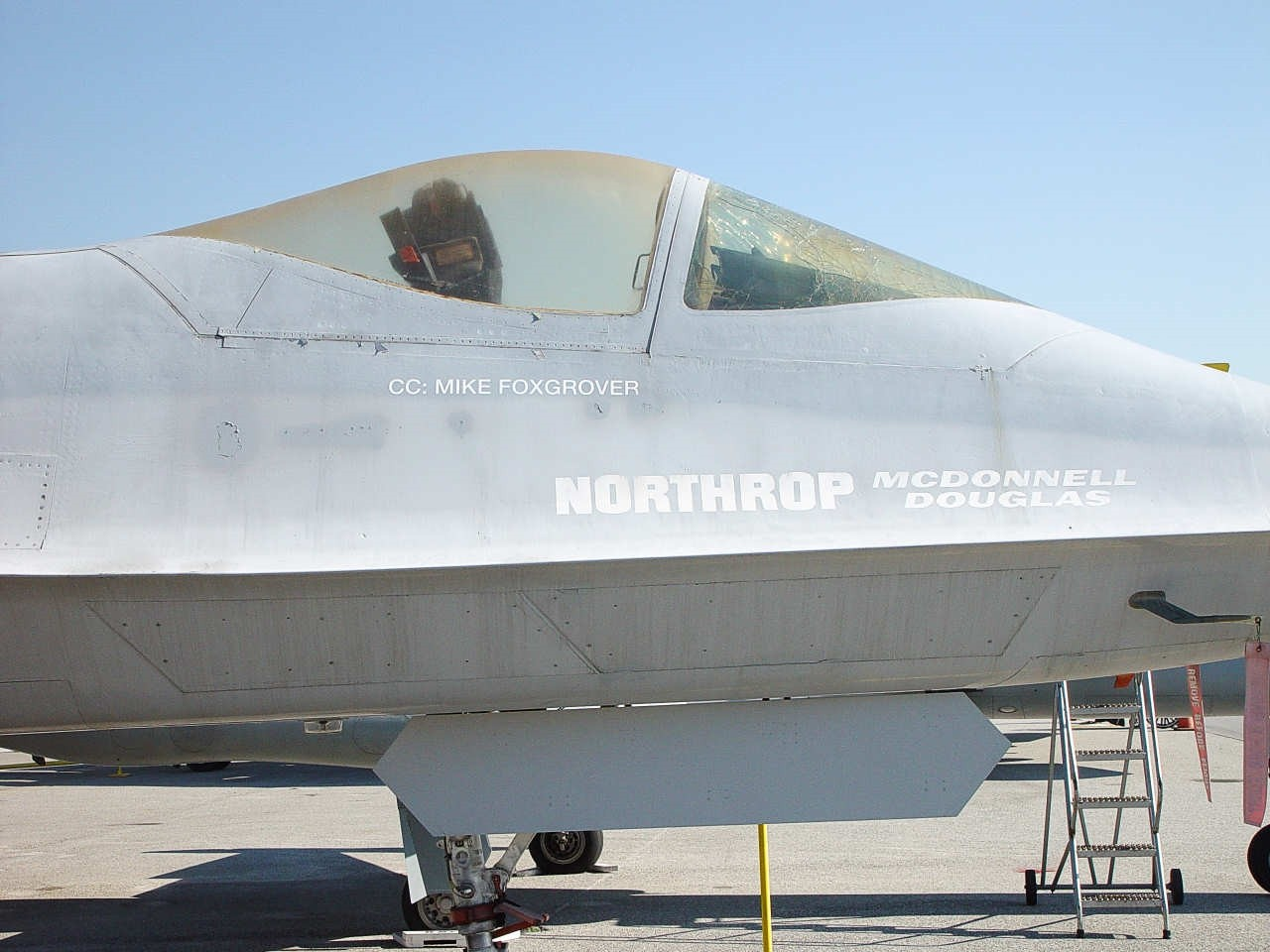 Northrop YF-23 - Walk Around