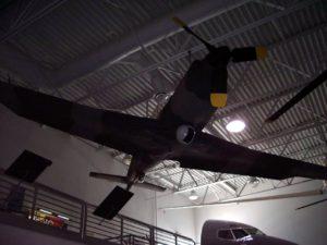 Lockheed YO-3 - Fuß Rund