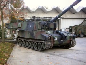 M109 howitzer - Walk Around
