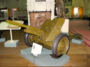 45 mm anti-tank gun M1937 - Walk Around