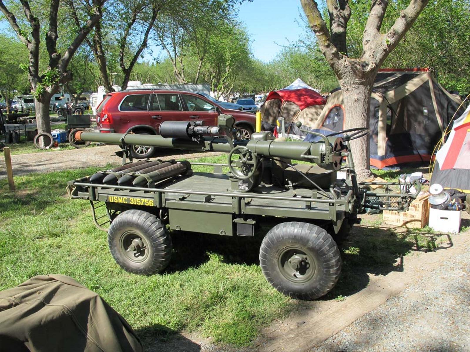 M274A2 Öszvér a 106mm M40A2