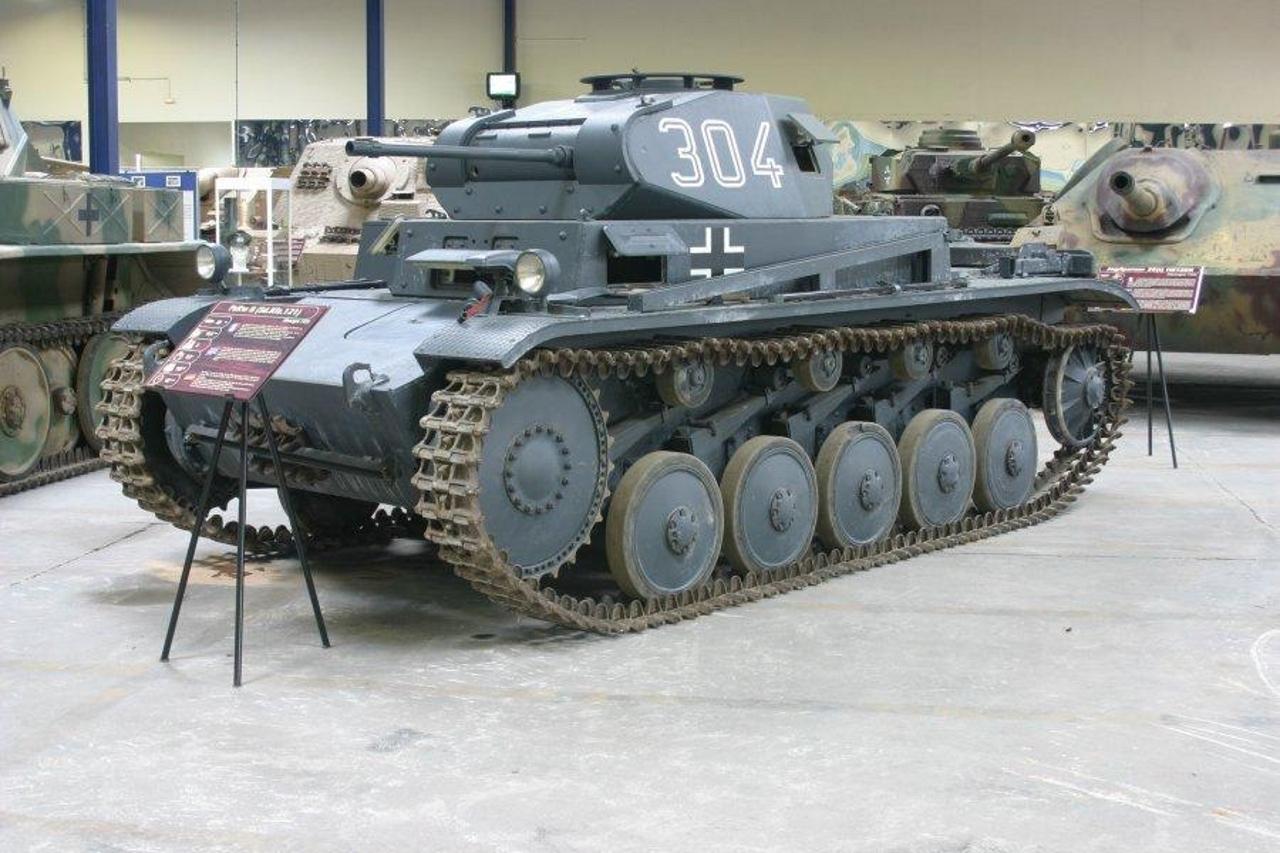 Panzer II Ausf.C Sd.Kfz 121