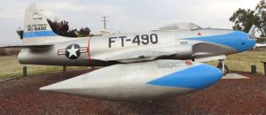 Lockheed P-80 Shooting Star - Sprehod Okoli
