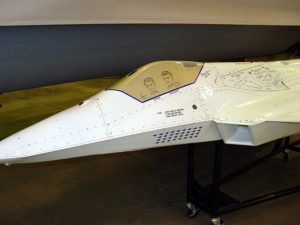 Boeing X-36 - Walk Around