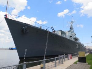 HMCS Haida - Walk Around