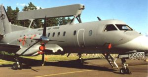 SAAB 340 AEW - Walk Around