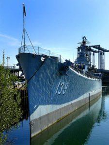 USS Salem - Walk Around