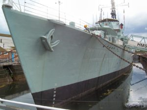 HMS Cavalier (R73) - Walk Around