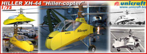 Unicraft Modely - Hiller XH-44