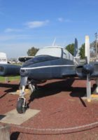 Синее каноэ Cessna U-3A
