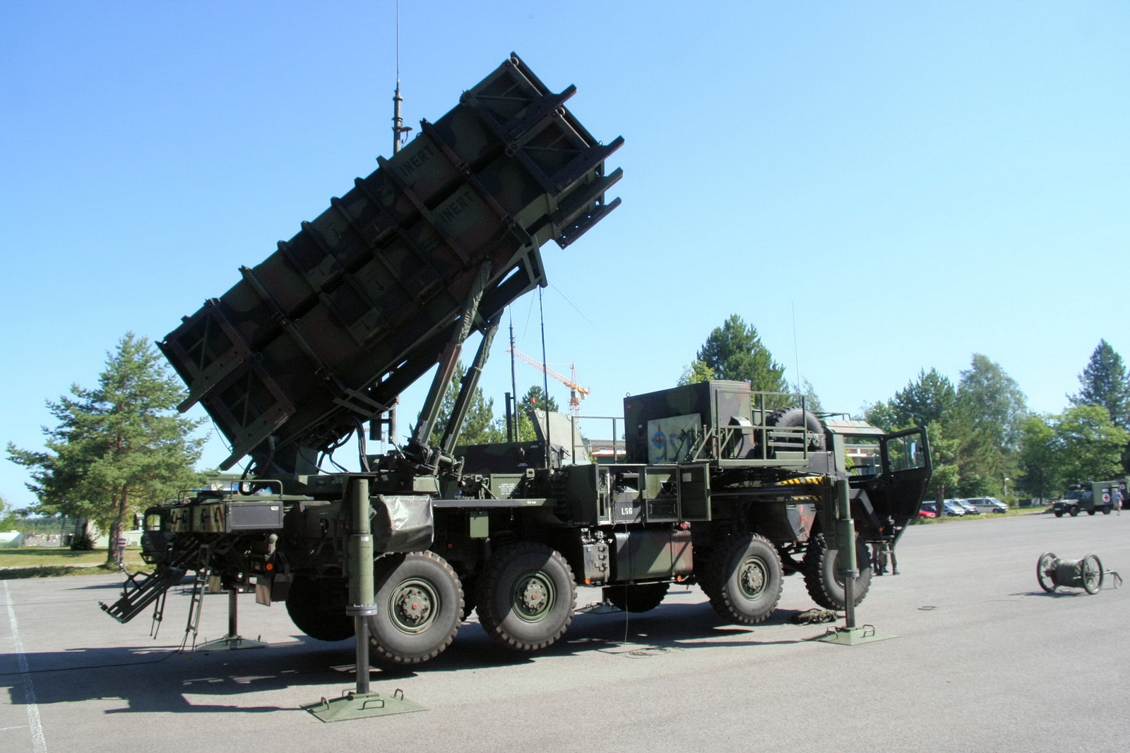 "W MIM-104 Patriot"" - spacer"