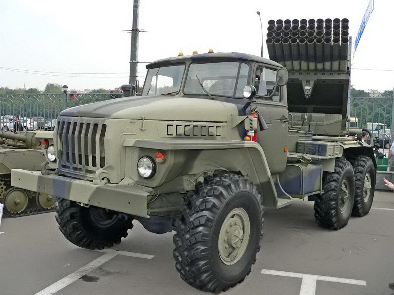 BM-21Grad 차량 중 하나