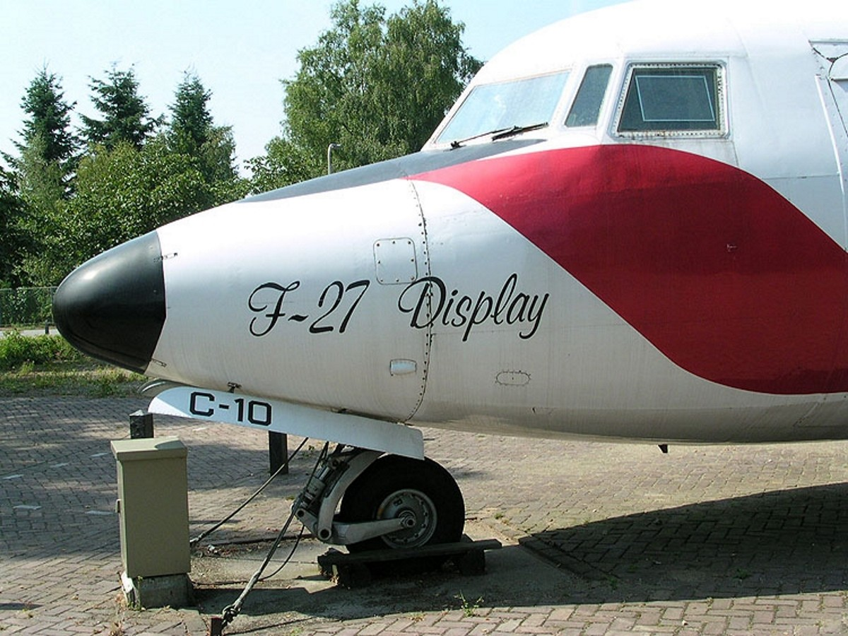 Fokker F27 Friendship - Omrknout
