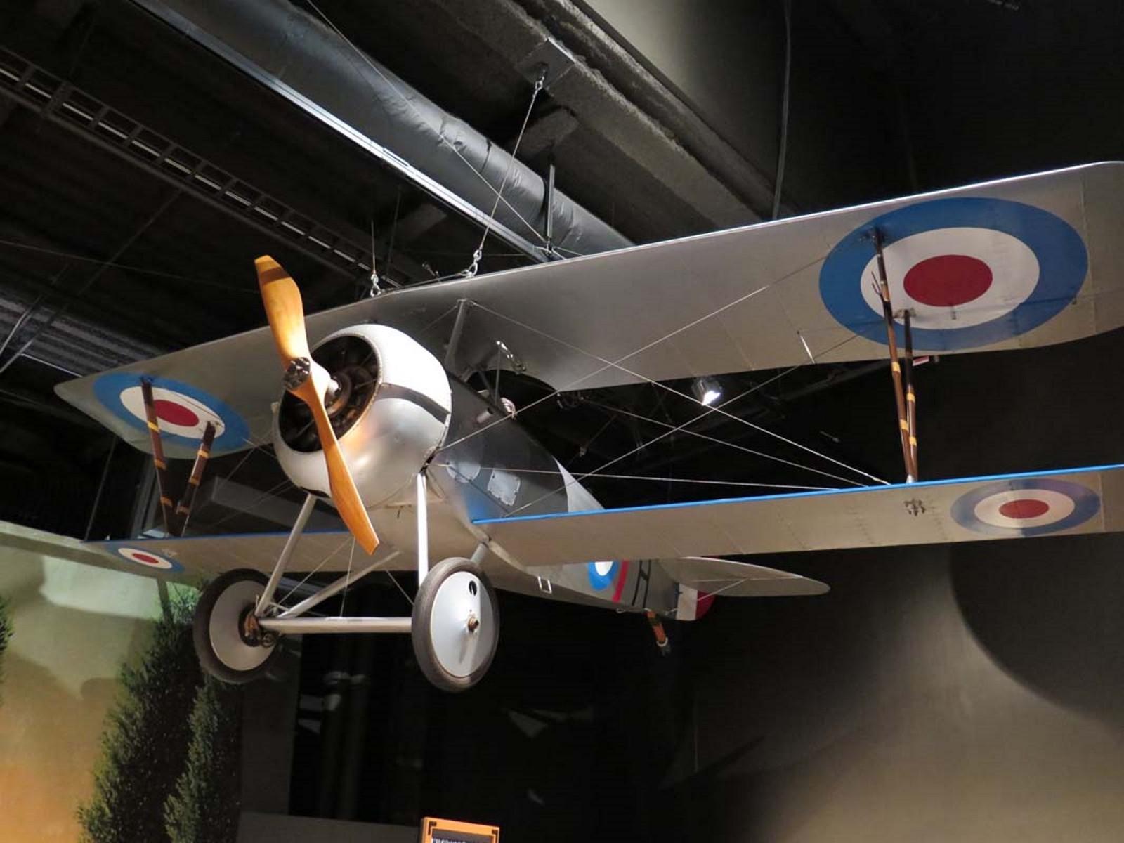 Nieuport 27 - Interaktív Séta