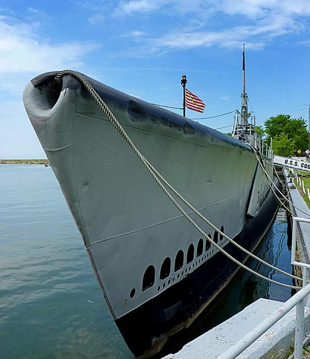 USS Cod - Περιήγηση