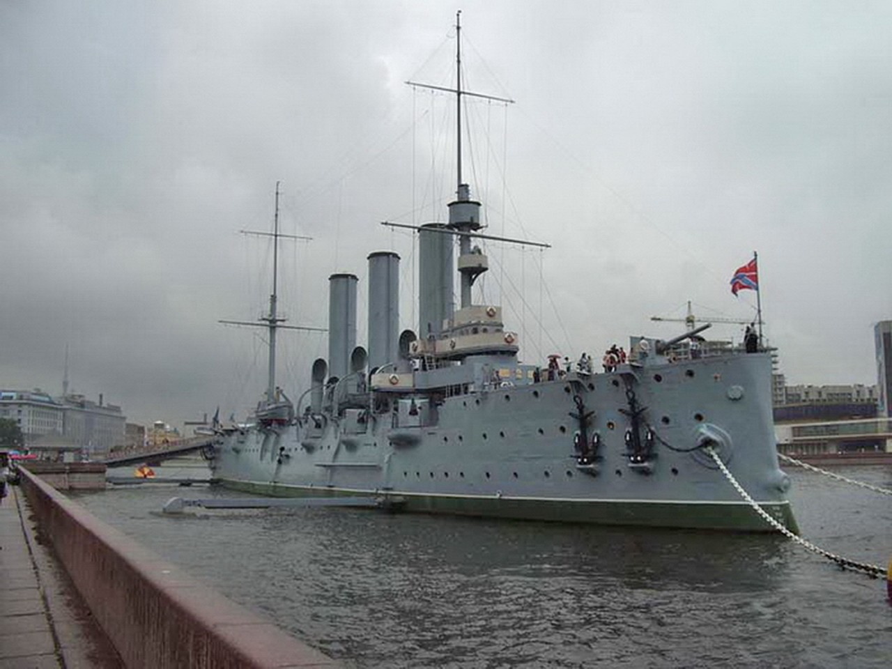 Russian cruiser Aurora - WalkAround