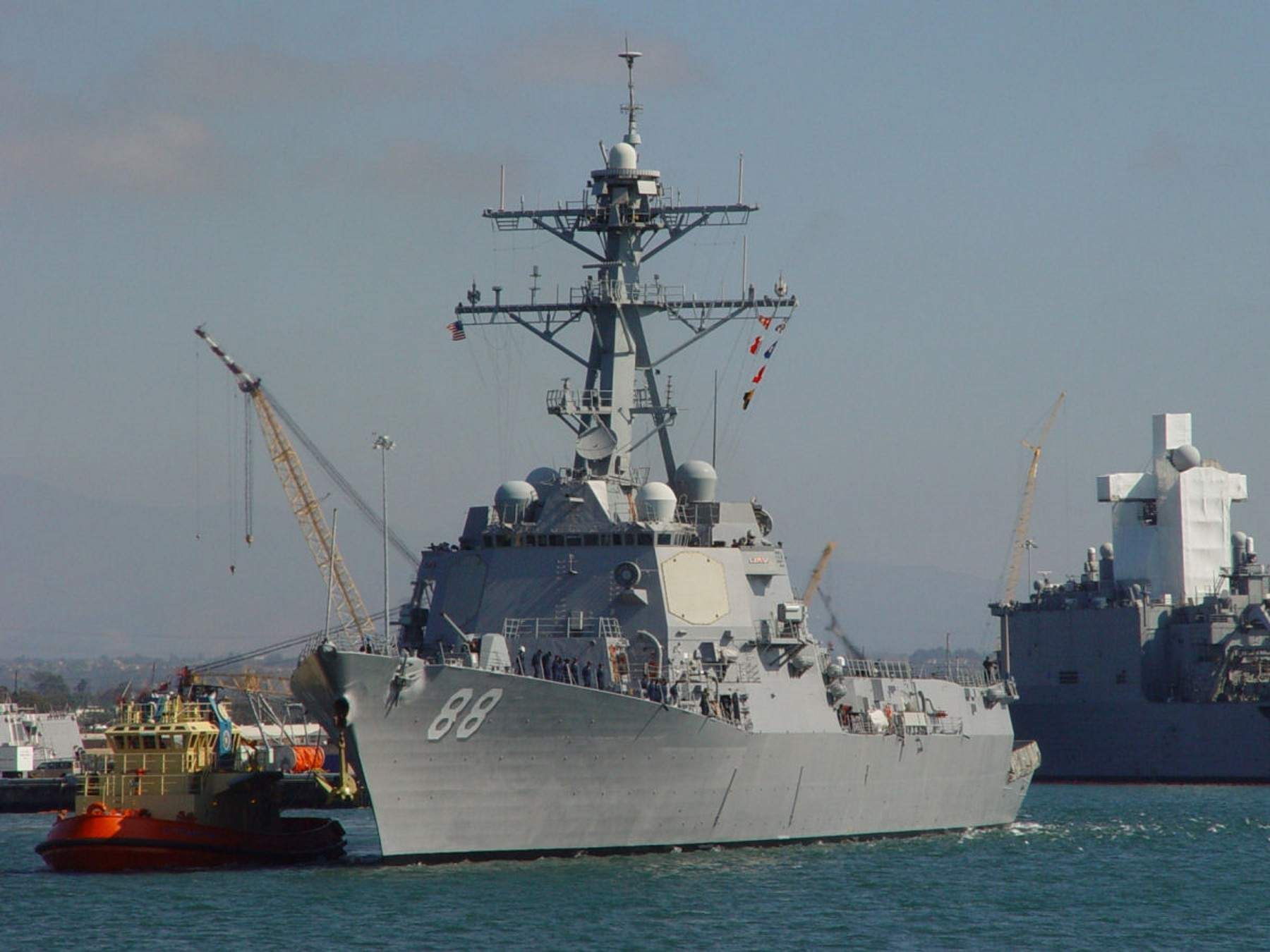 USS Preble (DDG-88) - WalkAround