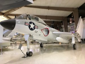 Chance Vought F7u Cutlass - Walk Around