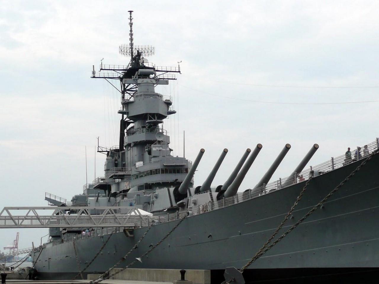 USS Wisconsin BB-64