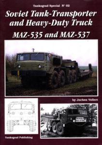 Soviet Tank-Transporter and Heavy-Duty Truck MAZ-535 and MAZ-537