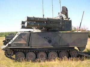 Air Defense Anti-Tank System - Loop rond