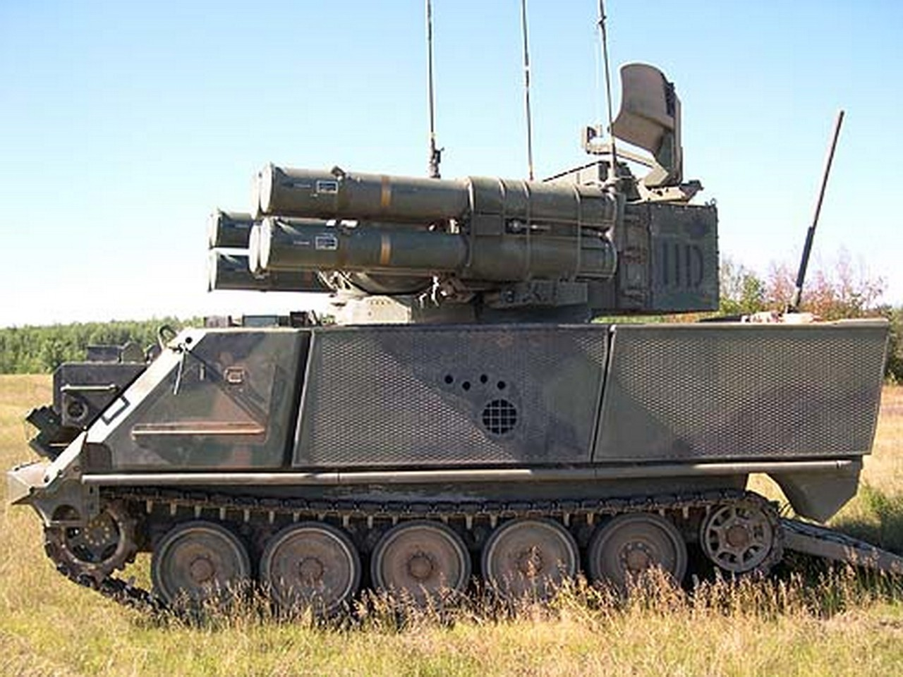 ADATS Air Defense Anti-tank System