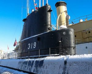 USS Becuna - прогулка