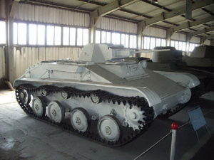 T-60 tenk - Šetnja oko