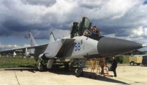 Mikoyan MiG-31 - Séta