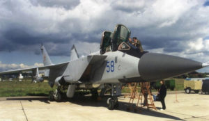 Mikoyan MiG-31 - Spacer Wokół
