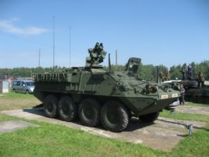 M1126 Infanteri Carrier Vehicle - Gå rundt