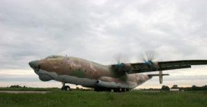 Antonov An-22 - Procházka