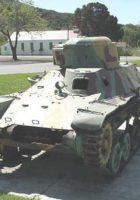 类型 97 特克坦克 - 四处走动