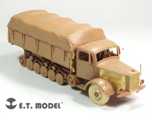 German Heavy Halftrack L4500R MAULTIER - E.T.MODEL E35-135
