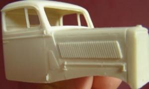 Opel Blitz 1t Plateau - Dnepromodel 3502