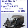 Opel Blitz 1t-Fennsíkon