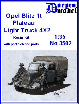 Opel Blitz 1t Plateau