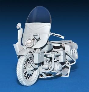 美国第二次世界大战的摩托车增-MiniArt35080
