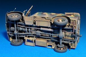 Kfz.70 MB 1500A German 4x4 Car w/Crew - MiniArt 35139