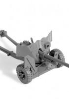 De britse Anti-Tank Kanon QF 6-PDR MK-II - Zvezda 3518