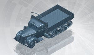 V3000S/SS M - Sd.Kfz.3b - Maultier - ICM 35412