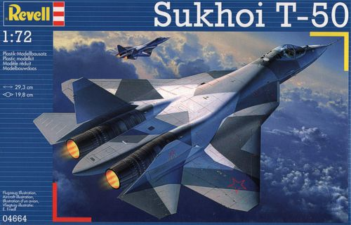 Sukhoi T-50-Revell 4664