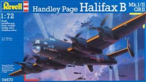 Revell 4670 - Handley Page Halifax Mk.I/II