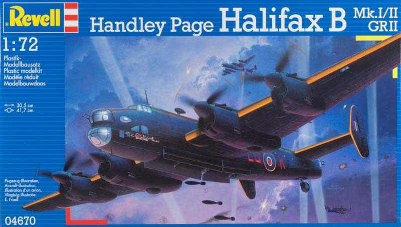 Revell 4670 - Handley Page Χάλιφαξ Mk.I/II