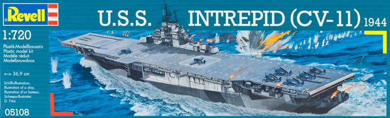 Revell 5108 - Intrepid