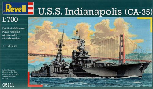 Revell 5111 - U.S.S. Indianapolis