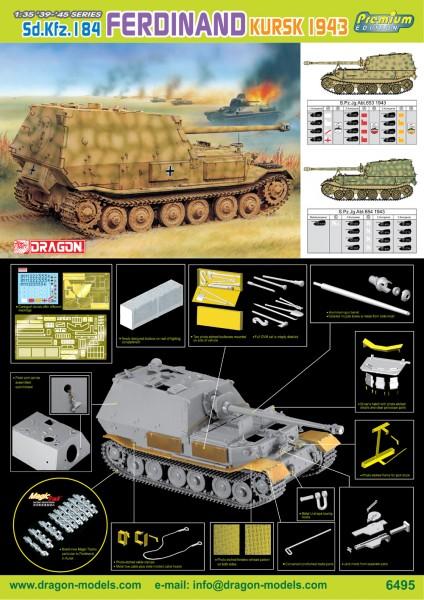 Sd.Kfz.184 Ferdinand Koursk 1943 - DML 6495